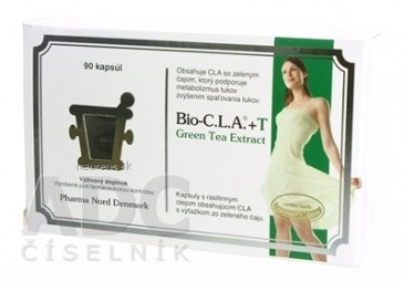 Bio-C.L.A + T Green Tea Extract cps 1x90 ks