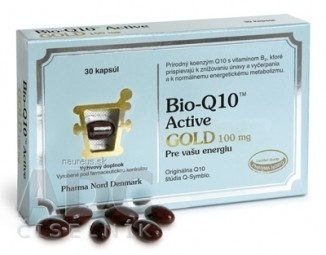 Bio-Q10 Active GOLD cps 1x30 ks
