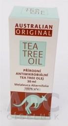 AUSTRALIAN ORIGINAL TEA TREE OIL 100% 1x30 ml