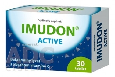 IMUDON ACTIVE (Pharmaceutical Biotechnology) tbl 1x30 ks