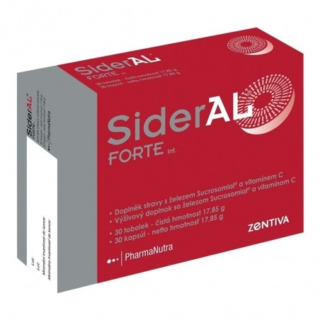SiderAL FORTE Int. cps 1x30 ks