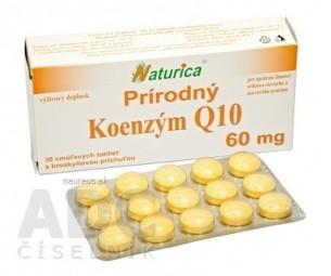 Naturica Prírodný KOENZÝM Q10 60 mg