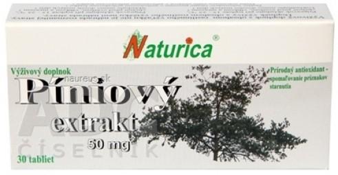 Naturica PÍNIOVÝ EXTRAKT 50 mg