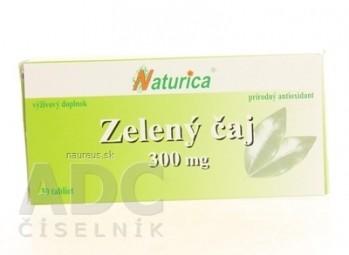 Naturica ZELENÝ ČAJ 300 mg tbl 1x30 ks