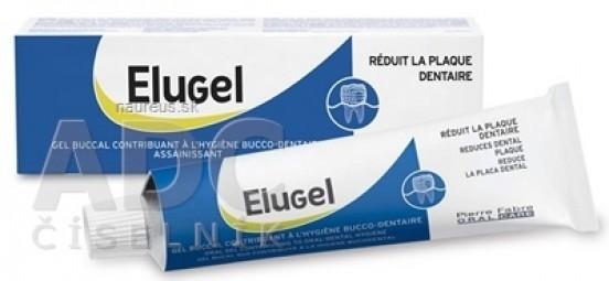 ELUGEL gél prispievajúci k zlepšeniu ústnej/dentálnej hygieny 1x40 ml