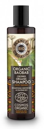 Šampón pre hustotu a objem vlasov Baobab