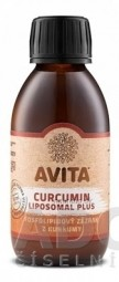 AVITA CURCUMIN LIPOSOMAL Plus roztok, fosfolipidový komplex 1x150 ml