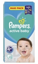 PAMPERS active baby Maxi Pack 4+ MaxiPlus
