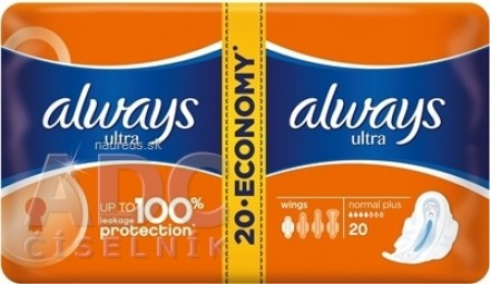ALWAYS ULTRA NORMAL PLUS-DVOJBALENIE 20