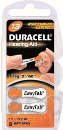 DURACELL HA 13 EASYTAB 1.4V batérie do načúvacích prístrojov 1x6 ks