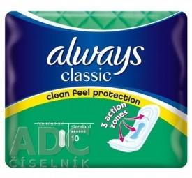 ALWAYS CLASSIC STANDARD 10 hygienické vložky 1x10 ks