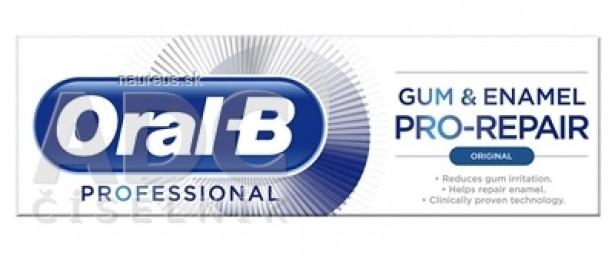 Oral-B GUM & ENAMEL PRO-REPAIR Original zubná pasta 1x75 ml