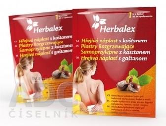 Herbalex Hrejivá náplasť s gaštanom