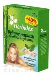 Herbalex Bylinné náplasti na očistu organizmu