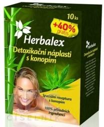 Herbalex Detoxikačné náplasti s konopou