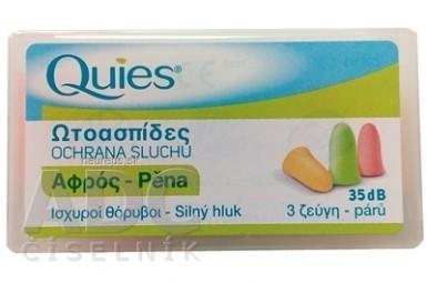 Quies Penové chrániče sluchu