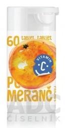 RAPETO C Vitamín 100 mg - príchuť pomaranč tbl 1x60 ks