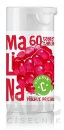 RAPETO C Vitamín 100 mg - príchuť malina tbl 1x60 ks