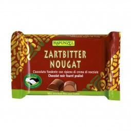 Čokoláda horká s orieškovou náplňou BIO 100 g Rapunzel *