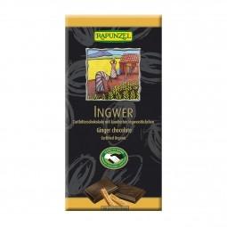 Čokoláda horká so zázvorom BIO 80 g Rapunzel *