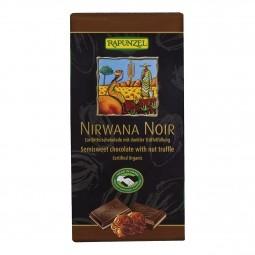 Čokoláda Nirwana horká BIO 100 g Rapunzel *