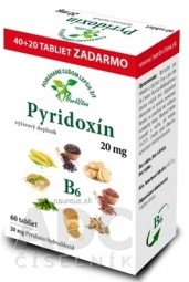 HerbVitea PYRIDOXÍN 20 mg