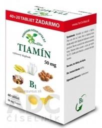 HerbVitea TIAMÍN 50 mg