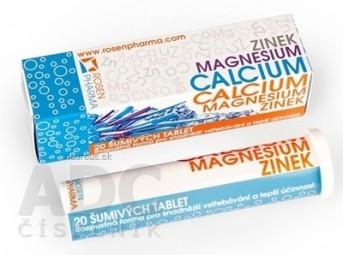 ZINOK, MAGNESIUM, CALCIUM - RosenPharma
