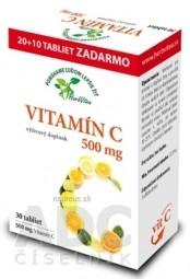 HerbVitea VITAMÍN C 500 mg