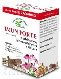HerbVitea IMUN FORTE s echinaceou, hlivou a zinkom