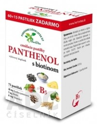 HerbVitea PANTHENOL s biotínom