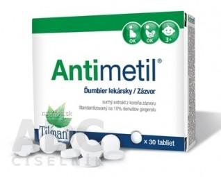 Antimetil tbl 1x30 ks