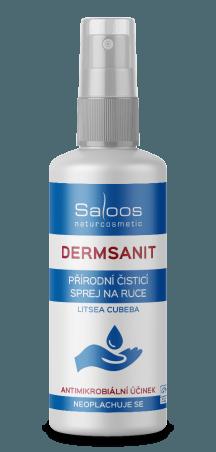 Prírodný bezoplachový čistiaci sprej Dermsanit 50 ml