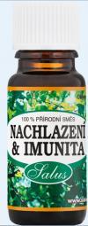 100% zmes éterických olejov Nachladnutie a imunita