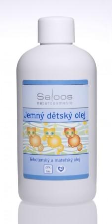 Jemný detský olej 250