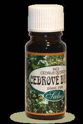 Éterický olej CÉDROVÉ DREVO 10 ml