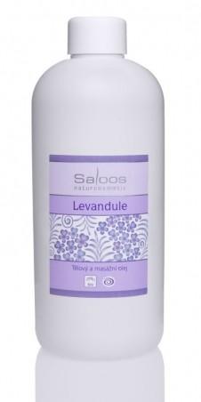 Levanduľa - telový a masážny olej 500