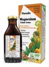 SALUS Floradix Magnesium tekutá forma 1x250 ml