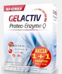 GELACTIV Proteo-Enzyme Q Akcia 1+1