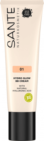 CC krém HYDRO GLOW s kys. hyalúronovou - 30ml - 01 light–medium