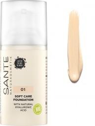 Make-up SOFT CARE - 30ml - 01 Warm linen