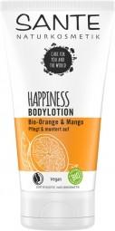 HAPPINESS telové mlieko BIO pomaranč a mango - 150ml