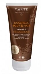HOMME II sprchový gél a šampón BIO Kofeín a Acai