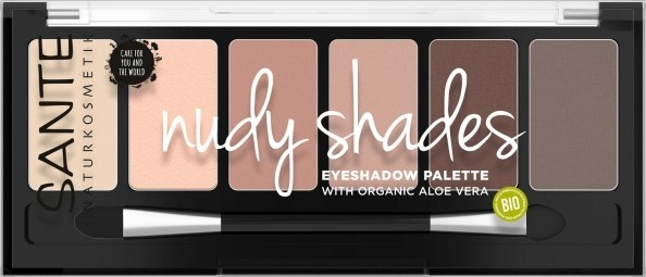 Minerálne očné tiene Palette nudy shades 6 g