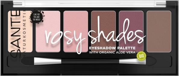 Minerálne očné tiene Palette rosy shades - 6g