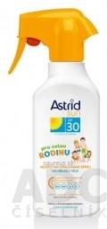 Astrid sun Rodinné mlieko na opaľovanie OF 30