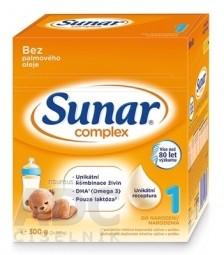Sunar Complex 1 počiatočná mliečna výživa (od narodenia) (inov.2020) 1x300 g