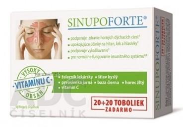 SINUPO FORTE cps (20+20 zadarmo) 1x40 ks