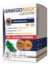 GINKGO MAX + LECITIN - DA VINCI