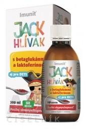 HLIVA JACK HLÍVÁK SIRUP glukány, laktoferín-Imunit
